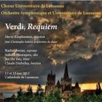 Chœur Universitaire de Lausanne Verdi, Requiem