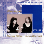 Marina PITTAU et Lucia ALBERTONI A distempu