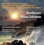 Chœur Universitaire de Lausanne Beethoven Missa Solemnis