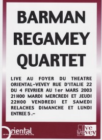 Barman - Regamey Quartet